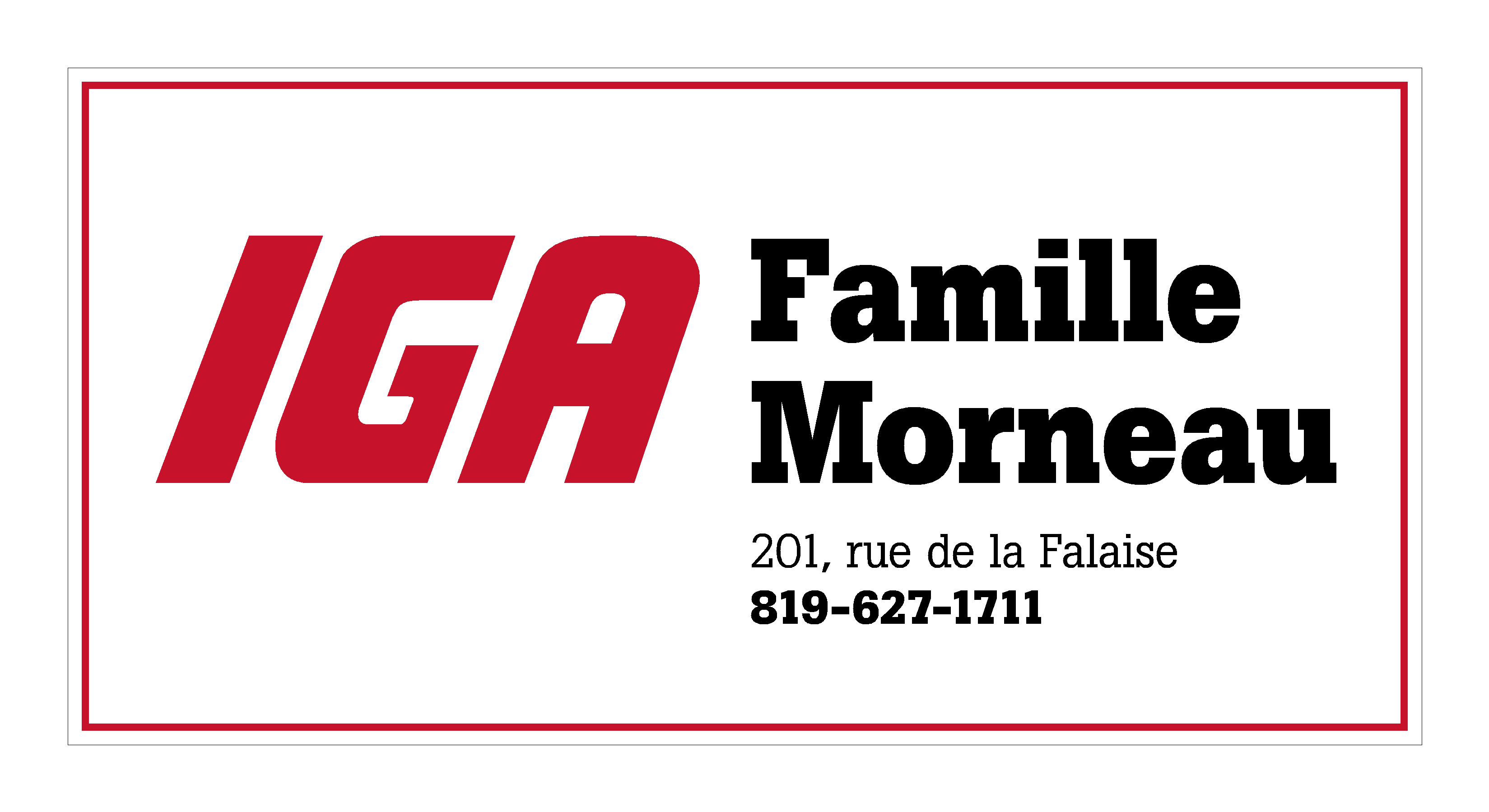 IGA Famille Morneau