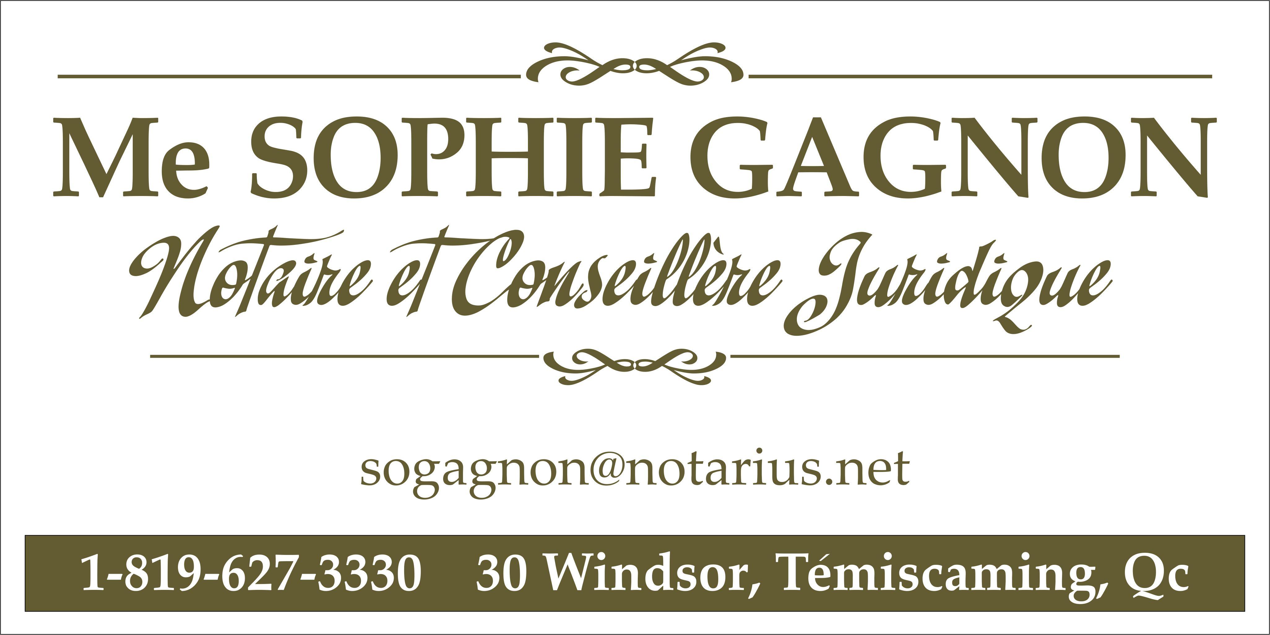 Notaire Sophie Gagnon