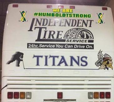 Les Titans oublieront pas Broncos de Humboldt