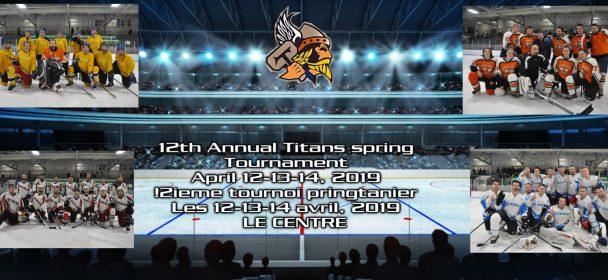 12ieme tournoi annual d'hockey Titans