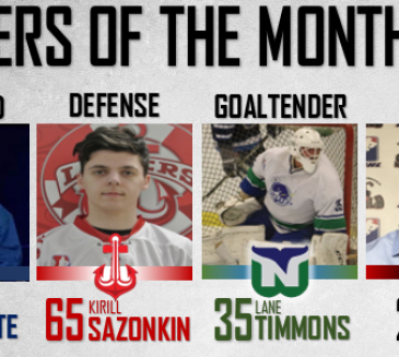 M-A Turcotte GMHL November forward of the month