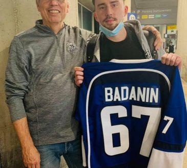 Ilya Badanin lands with the Titans
